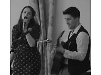 Two Tone Acoustic Duo available for weddings and functions