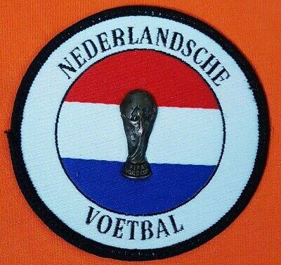 VINTAGE ADIDAS FOOTBALL SHIRT WORLD CUP 1998 HOLLAND Netherlands Nederlandsche M image