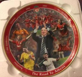 Liverpool Road to Athens Collectors Plate.