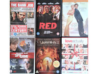 18 DVDs Films, Movies. £2.90 including postage. Paypal.
