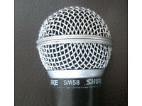 Shure SM58 Microphone Used but works great