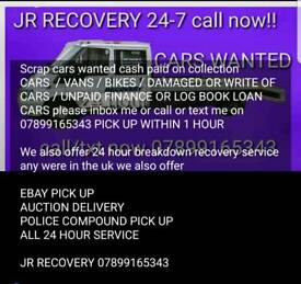 JR RECOVERY NORTHWEST SCRAP CARS WANTED BEST PRICE FOR CARS