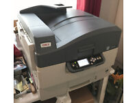 OKI C9655N - Hardly used - Only 282 prints