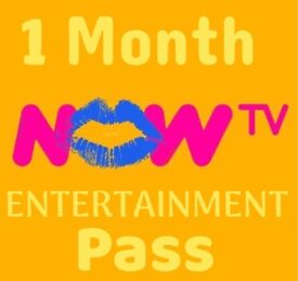Now TV 1 Month Entertainment Pass