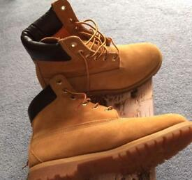 Authentic timberlands size 6