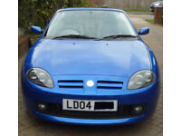 MG TF 1.6 COOL BLUE - LIMITED EDITION