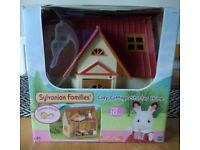 Sylvanian family cosy cottage starter home
