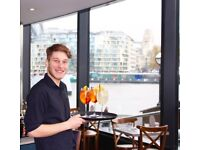 Waiter Waitress + PART TIME + great location + paid every two weeks