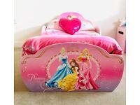 Disney Princess Toddler Bed with Storage