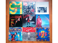 """75 + POP vinyl LP's & 12"""" records"""