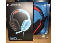 Logitech G230 Wired Stereo Gaming Headset with Mic for PC & Laptop