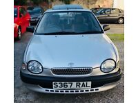 1998 TOYOTA COROLLA 5DR -:- LOW-MILEAGE/TESTED -:- £595