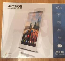 Archos 7ob Helium 4G Tablet - sealed and unopened!