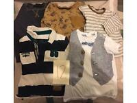Baby boys 9-12 months clothing bundles x12