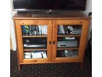 Antique Pine Tv Unit