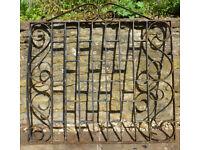 Hand Made Edwardian Wrought Iron Gate