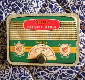 Original Keiller Portable Radio Sweet Tin