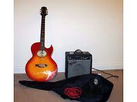 Gibson Epiphone electro acoustic guitar