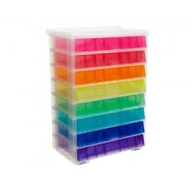 Rainbow drawer set of 8