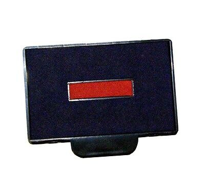 Replacement Ink Pad 6/56 for trodat Dater 5460, Blue and Red -