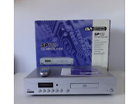 ACOUSTIC SOLUTIONS SP122 CD/MP3 PLAYER + REMOTE CONTROL