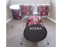 """TAMA DRUMS Bop sized 18"""" Bass drum, 10"""", 12"""" & 14"""" toms (No Stands)"""