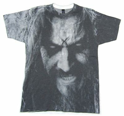 - Rob Zombie Sublimated Face All Over Print T Shirt New Official Merch Soft