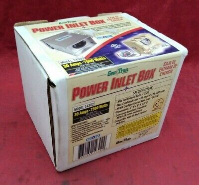 New Gen Tran Honda Power Inlet Box 30a 120240v 32314-189-030ah