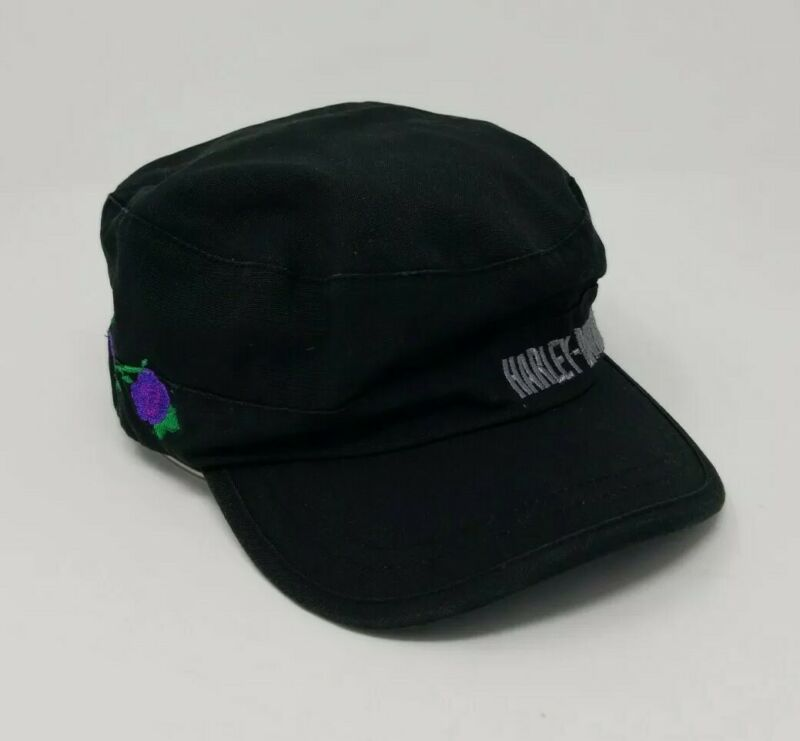 Harley-Davidson Womens Adjustable Hat Purple Rose