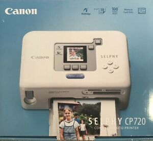 Canon Selphy CP720 Compact Photo Printer,