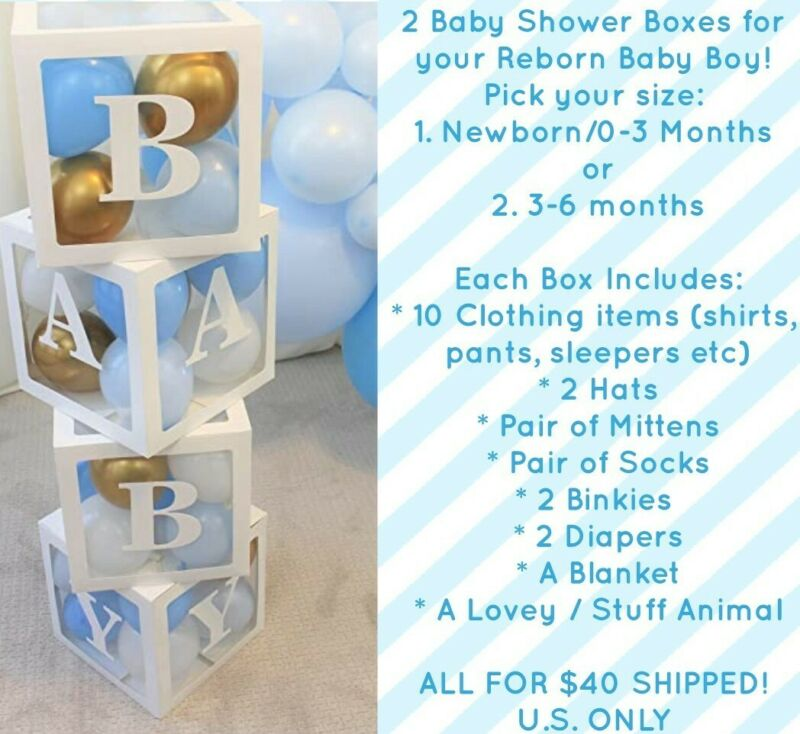 Reborn Baby Girl - Baby Shower Surprise Box