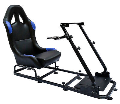 Racing Simulator Chair Rally WRC F1 Race Gaming Frame Seat PC Playstation Xbox