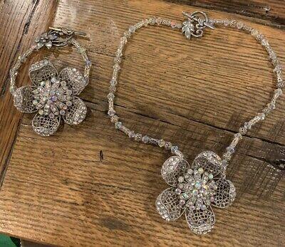 """Vintage """"Oscar De La Renta Copycat"""" Necklace And Bracelet - Copycat Costumes"""