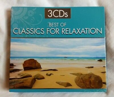 Best of Classics for Relaxation ~ 3 CD Set ~ 2010 ~ Various