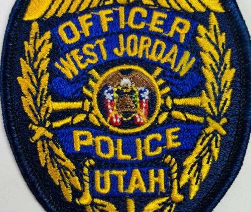 West Jordan Police Salt Lake County Utah UT Patch