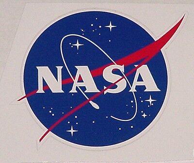 Aufkleber NASA Raumfahrt 8x7,4cm  ............AU007