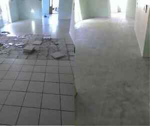 Floor stripping - diamond grinding - tile removal Nundah Brisbane North East Preview
