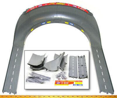 """TYCO TCR Slot less Car Total Control Race HIGH BANK CURVE TRACK +15"""" STRAIGHTS ! for sale  Shipping to Canada"""