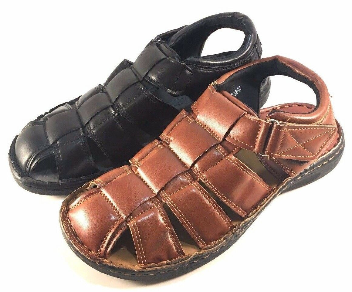 Eurbak 1532 Men's Closed Toe Sandals Choose Sz/Color