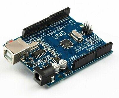 UNO R3 ATMEGA328P CH340G Board + USB Cable + wires, Arduino compatible