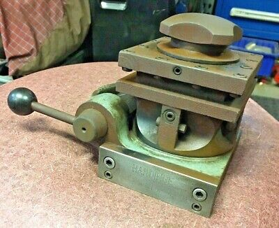 Hardinge Model A Quick Index 4 Way Turret Metal Lathe Tool Post Machinist Find