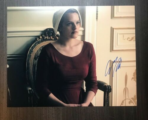 * ELISABETH MOSS * signed autographed 11x14 photo * THE HANDMAID'S TALE * 2