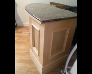 Hand Crafted Marble Desk