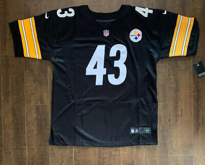 Troy Polamalu Pittsburgh Steelers On Field Jersey Size 50 Free Ship (A4) READ On