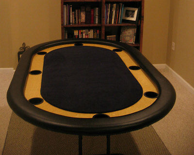 Casino Style DIY Poker Table Plans - Texas Holdem 8-person or 10-person - Casino Style