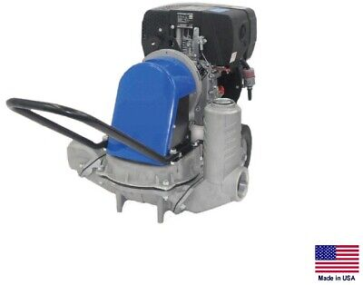 Diaphragm Pump - Sludge Sewage - 2 Stage - 2 Ports - 7 Hp Diesel - 3000 Gph