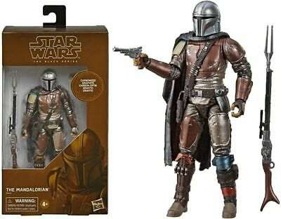 """Star Wars The Mandalorian Carbonized Black Series 6"""" Inch Action Figure"""