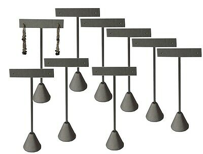 Lot Of 12 Steel Gray Earring Display Stand Earring Tree 5 34h Earring Stand