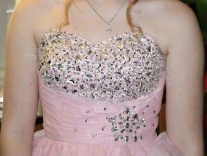 Grade 9 Grad dress (pretty pink)