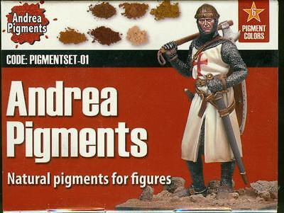 Andrea Pigment APS 01 - Natural Pigments for Figures